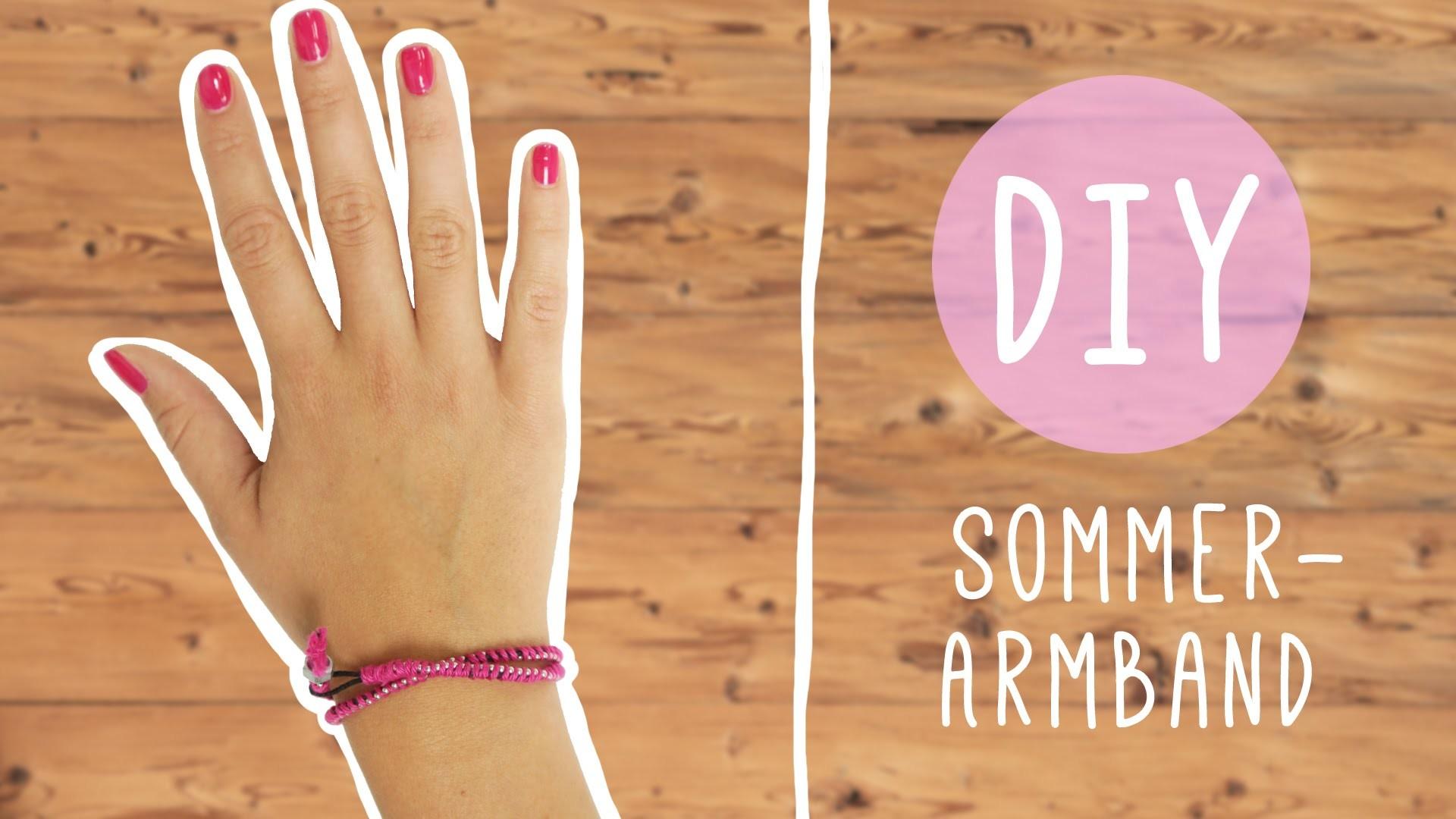 DIY mit Nina: Armband für den Sommer
