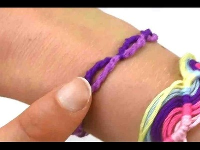 Freundschaftsband knüpfen Anleitung. Armband einfach selber machen. DIY