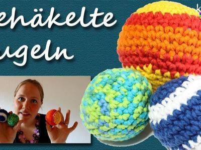 Gehäkelte Kugeln - Von Spielbällen, Jonglierbällen, Anti-Stress-Säckchen und Deko-Kugeln