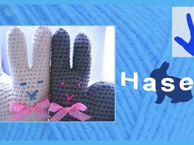 Häkeln - Hase für Kinderhände