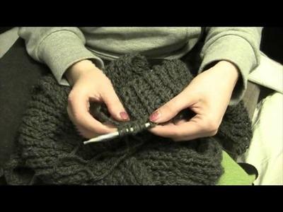 [Handmade] Loopschal stricken mit Umschlagtechnik