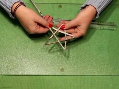 KmZ ~ Stern aus Papierröllchen Tutorial How to