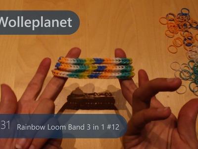 Loom Band 3 in 1 mit Gabeln #12