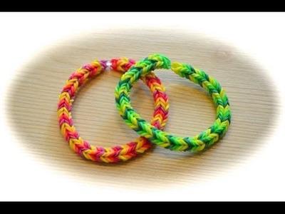 Rainbow Loom 3 Pin Fischgrätenarmband (deutsche Anleitung)