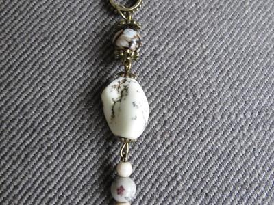 Schlüsselanhänger aus Perlen * Schmuck seber machen * einfach und schnell