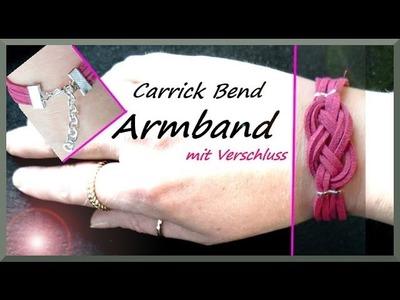 Schmuck selber machen: Anleitung Carrick Bend Armband
