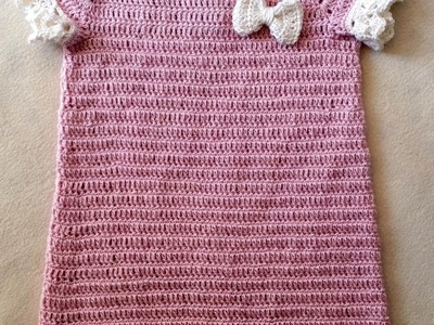 Taufkleid häkeln - Häkelkleid - Babykleid Teil 4. 6 by Berlin Crochet