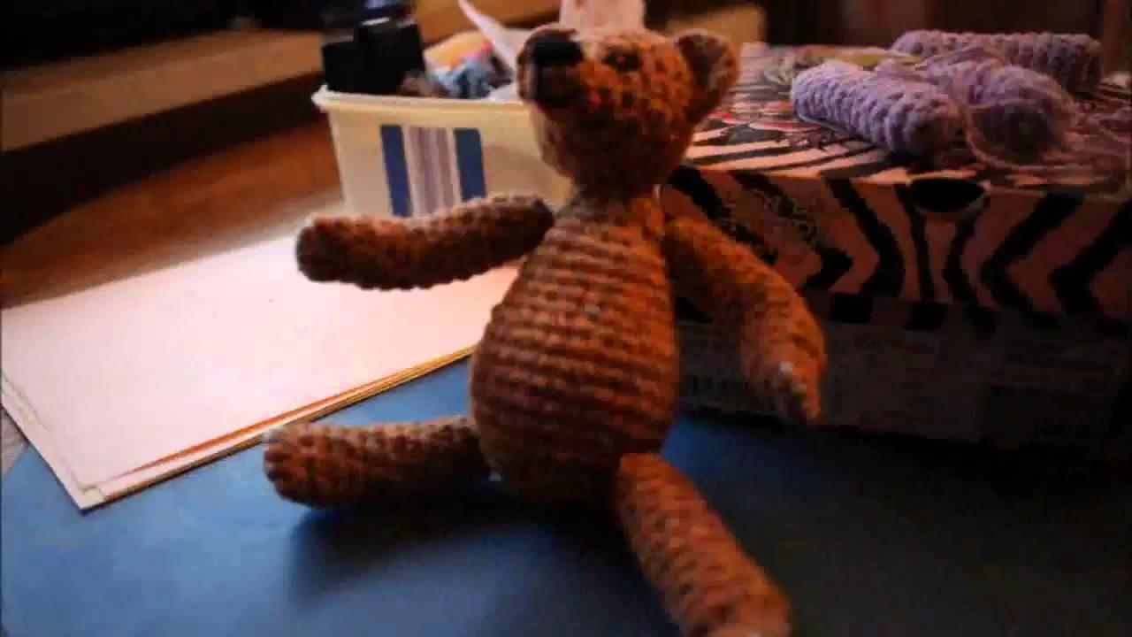 Teddy häkeln - Anleitung.Tutorial - HaekelnundStricken