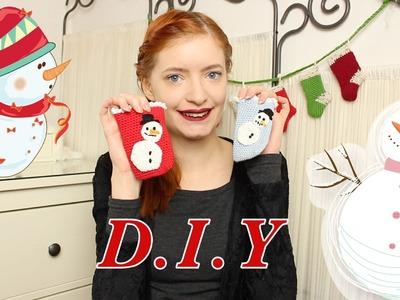 Adventsvideos 2014 Schneemann Handysöckchen DIY