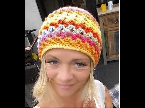Crochat Mütze  Biggi WendeMütze # Häkeln mit Yve