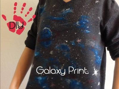 DIY Galaxy Print- Aus alt mach neu