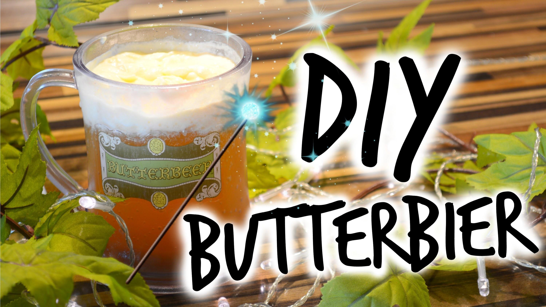 DIY Harry Potter Butterbier | mit xXTheMakeUpGuruXx
