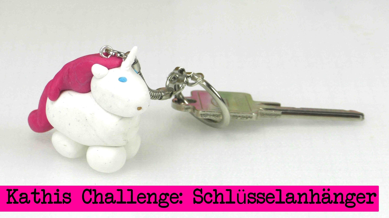 DIY Inspiration Challenge #16 Schlüsselanhänger | Kathis Challenge | Tutorial - Do it yourself