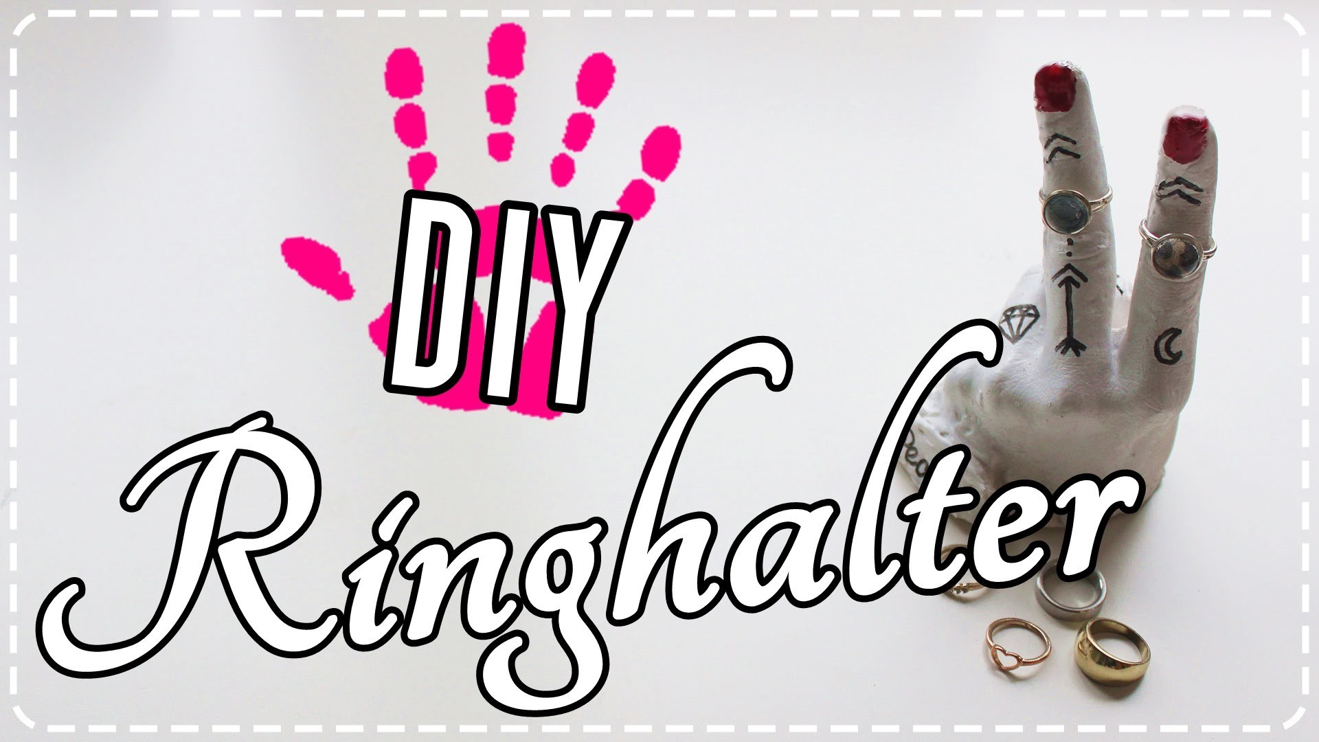 DIY- Schmuckhalter | Ringhalter inspired by Urban Outfitters & Tumblr!