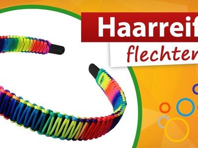 ♥ Haarreif flechten ♥  Haarschmuck selber basteln - trendmarkt24