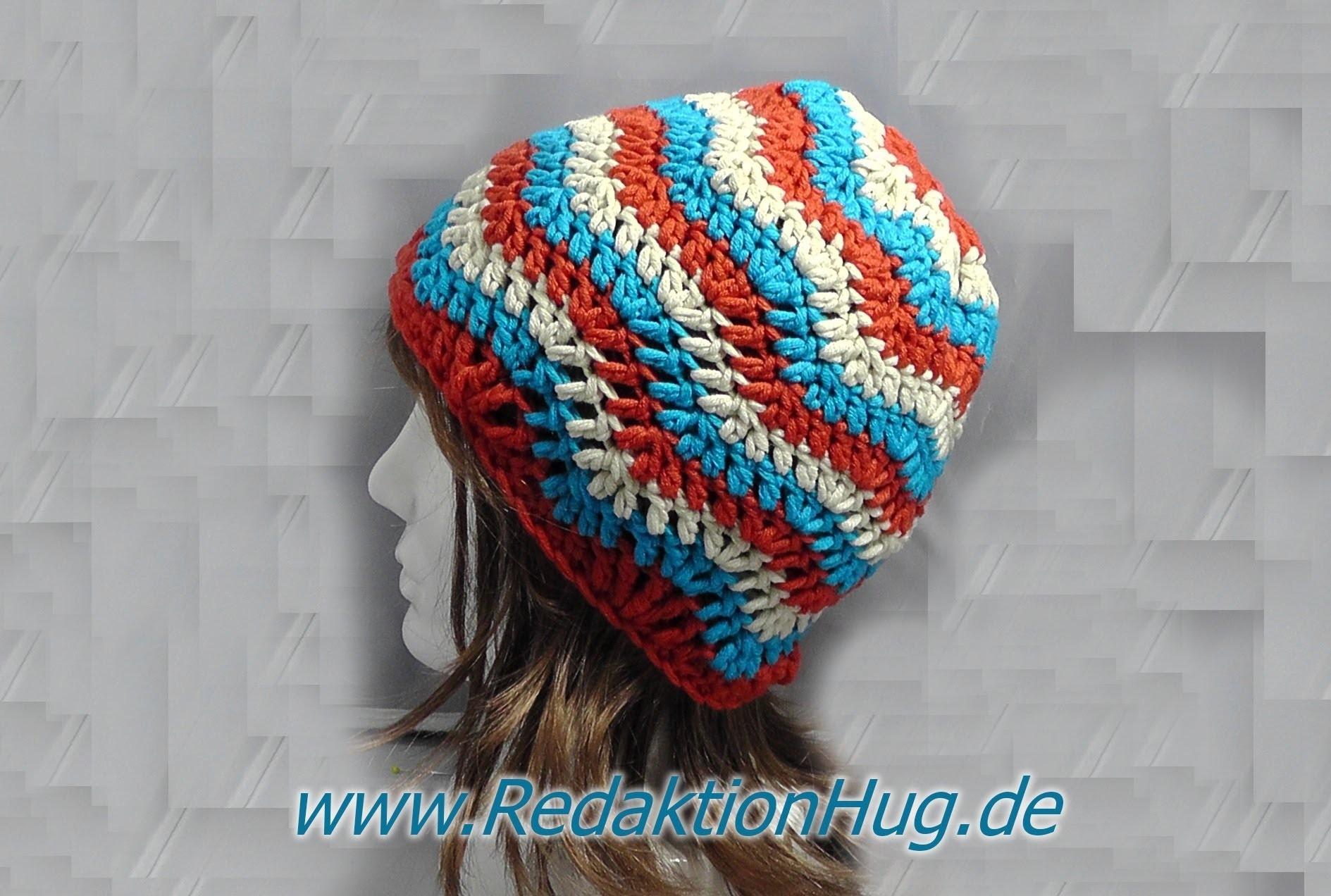 Häkeln Linkshänder Mütze Im Zackenmuster Aus Hatnut Xl 55 Von
