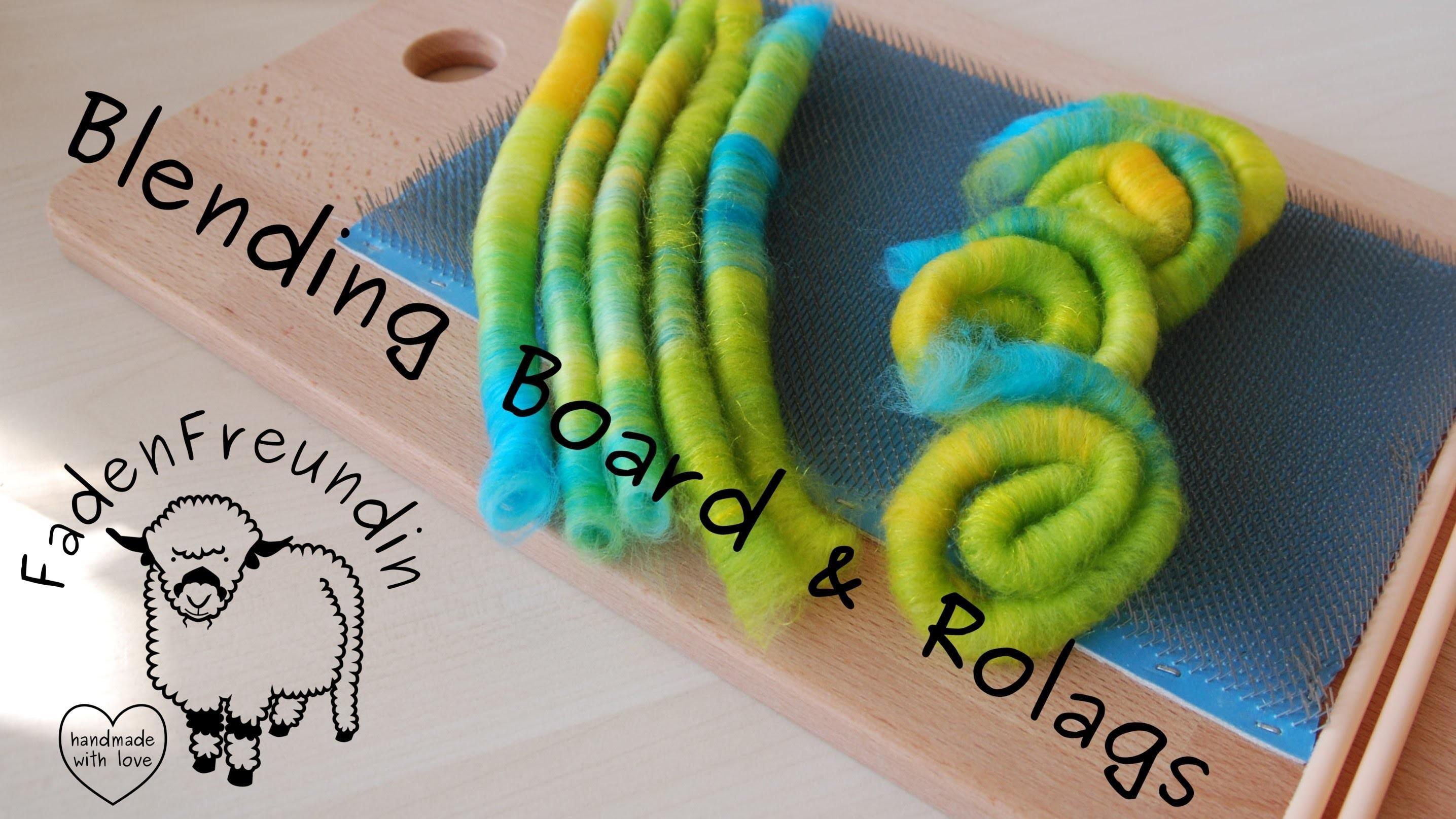 Kardierbrett - Blending Board DIY & Rolags herstellen (Wolle Spinnen)