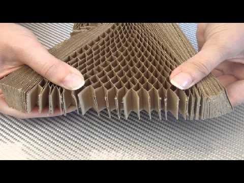 Kraft paper honeycomb