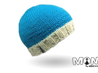 Mütze stricken mit Hatnut XL