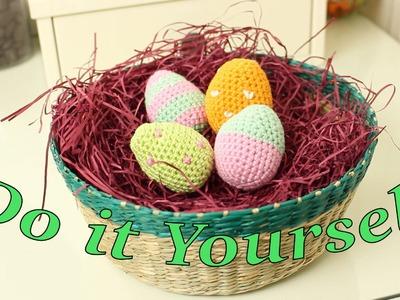 Osterei Häkel-Anleitung *Vorbereitungen für Ostern* Do it Yourself