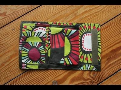 Portemonnaie von Funfabric mit kostenlosem Schnittmuster
