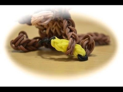 Rainbow Loom Banane für den Affen (deutsche Anleitung)