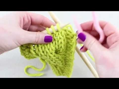 Simple Stylish Stricken - Tutorial: Strickkurs Technik 33: Zopf nach links verkreuzen