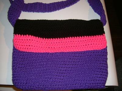 Tasche Häkeln einfach in modischen Farben nach deinen Style