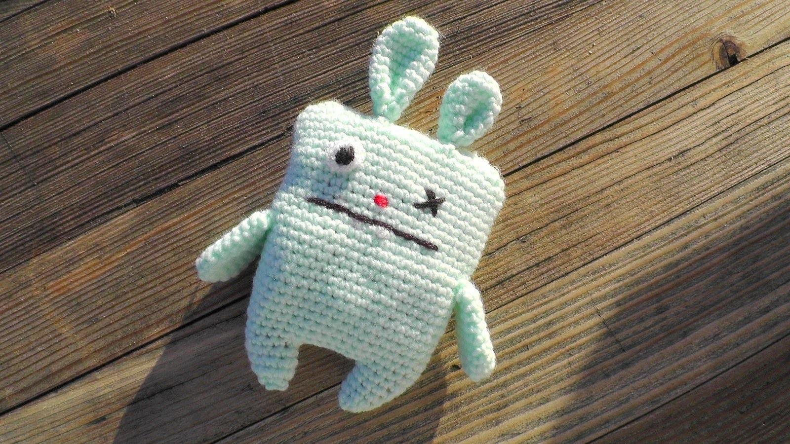 Ugly Bunny Amigurumi Häkelanleitung [Fortgeschrittene] Schachenmayr Baby Super Soft