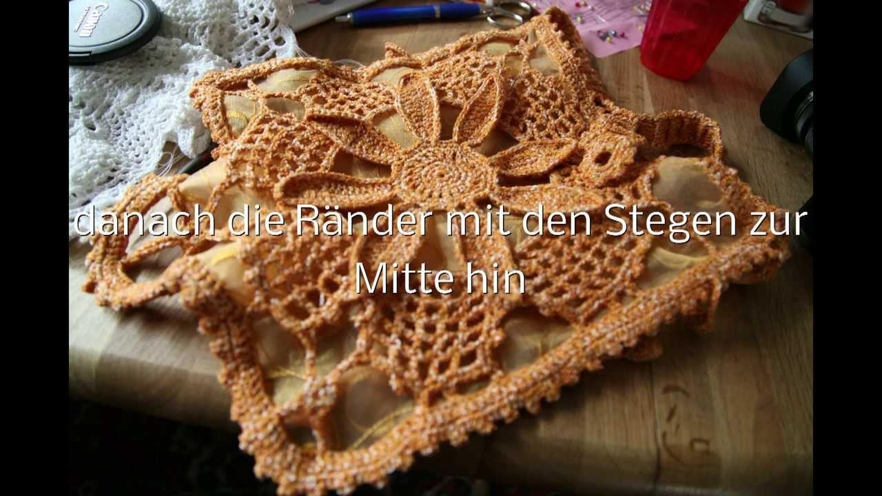 Vintage Crochet - Bag - Häkeltasche vintage - Häkeln und Stricken