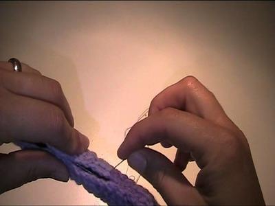 Anleitung zum Häkeln lernen - Kleiderbügel verschönern 2