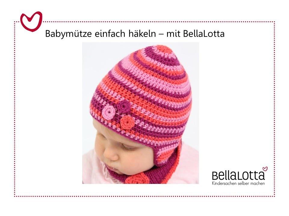 Babymütze einfach häkeln - Häkeln für Anfänger