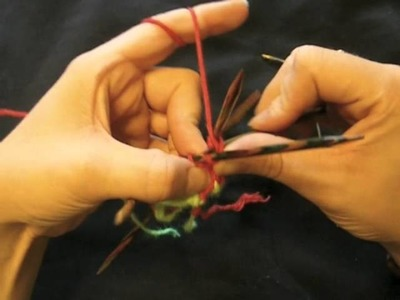Bündchen stricken - Saumbündchen