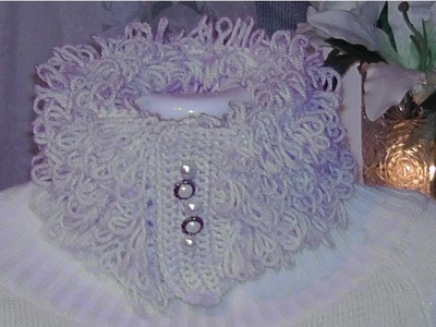 Crochet Häkeln - Schlingenmuster. Szydelkowanie , robotki szydelkowe - scieg petelkowy