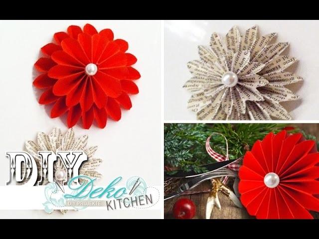 DIY: Deko-Dahlien aus Papier selber machen | Deko Kitchen