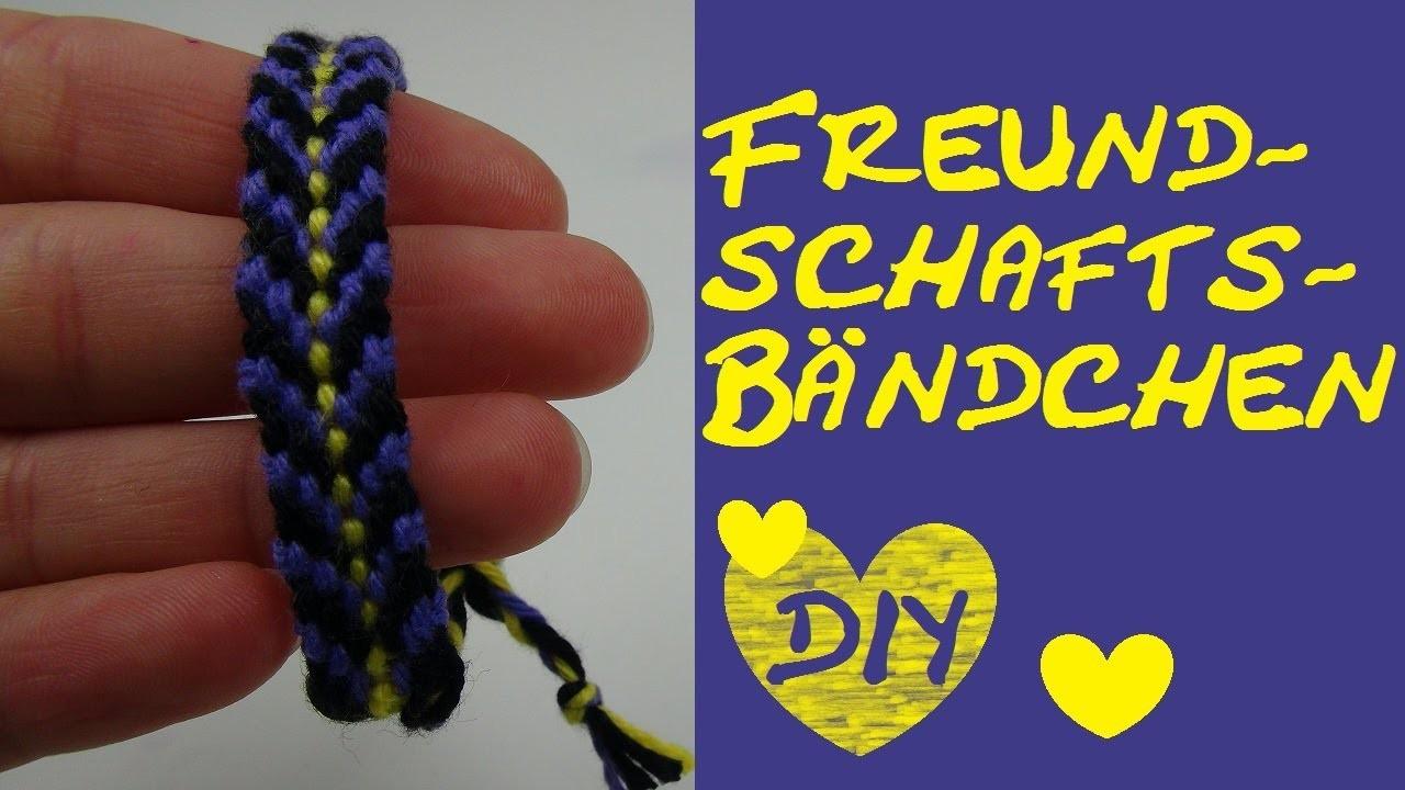 DIY Freundschaftsarmbänder aus Baumwolle knüpfen (Vol. 4) Anleitung