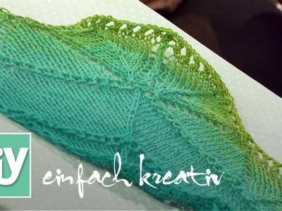 Gestricktes Lace-Tuch | DIY einfach kreativ