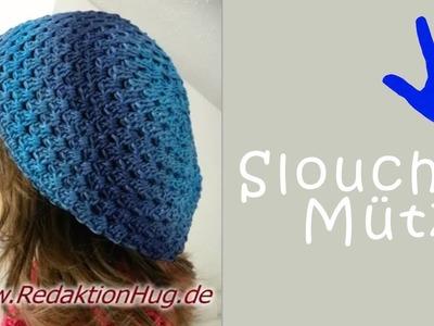Mütze Mütze Sylvia Häkeln Crochet Von Oben Nach Unten Gehäkelt
