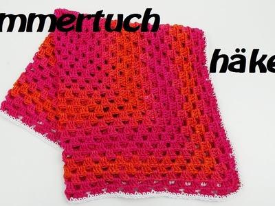 Häkeln Sommertuch - Schal - Ideal für Frühling.Sommer - wunderbar luftig