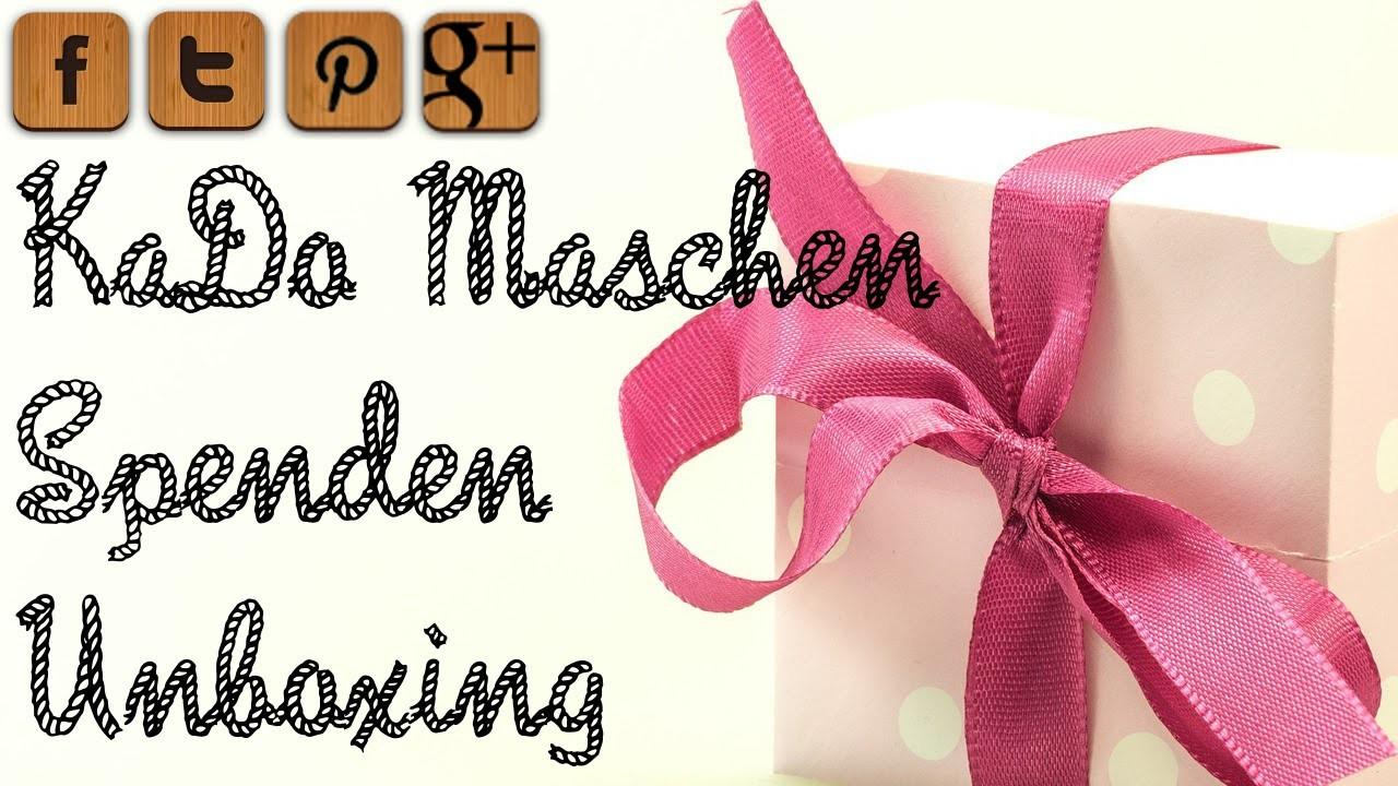 KaDo Maschen Spenden Unboxing Teil 2  - © Woolpedia