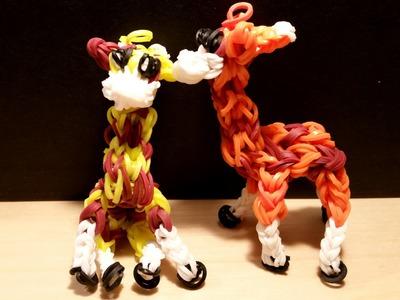 Loom Giraffe 3D Anleitung || Loom Tutorial Deutsch