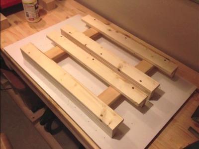 Make a folding table - Machen Sie einen Klapptisch