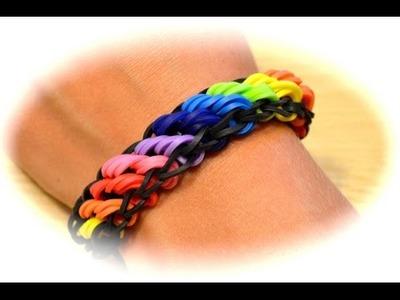 Rainbow Loom Rotini Armband (deutsche Anleitung)