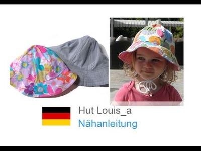 """Unisex Sommerhut. Hut. Sommermütze selber nähen """"LOUIS & LOUISA"""" - für Nähanfänger"""