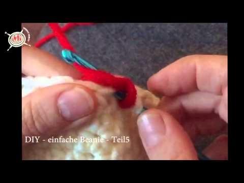 DIY | Beanie selber häkeln | Teil 5 | Farbwechsel 1