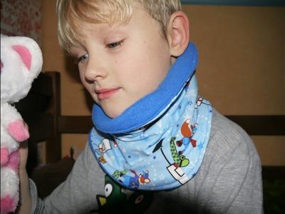 DIY Halssocke nähen - Nähen für Anfänger - mit Schnittmuster Ideen Kinderkleidung Winter