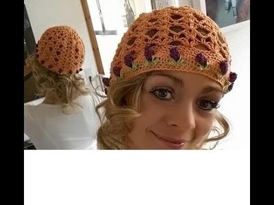 Häkeln Crochet Mütze BARBARA