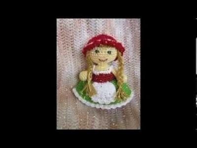 Handarbeiten Häkel Puppe