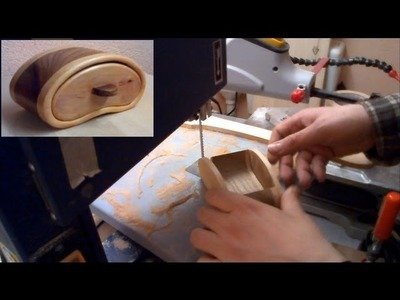 Make a Bandsaw Box ----- Schmuckkästchen mit der Bandsäge - woodworking