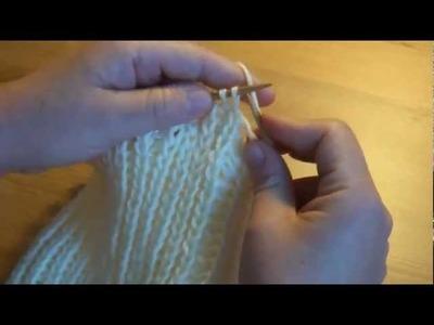 Mütze stricken   Teil 2   strickenlernen
